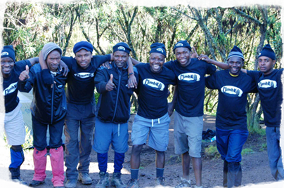 Climb Kili Acclaimed Crew