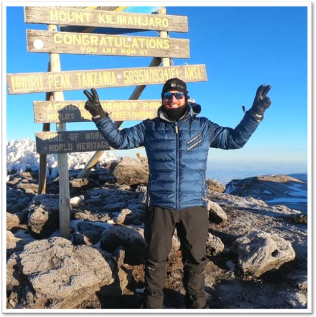 Kilimanjaro summit photo